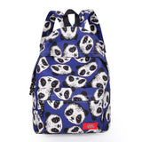 Cute Panda Head Rucksack Schoolbag Animal Travel Backpack