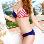 Sexy Stars Stripes USA Flag Bikini & Swimsuit