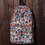 Rainbow And cashew Printed Stripes Leisure Backpack&Schoolbag
