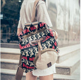 Avatar Printing Backpack Shoulder Bag Schoolbag