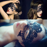 Sexy Lace Mask Nightclub Queen Party Hollow Eye Mask Princess Cat Lingerie