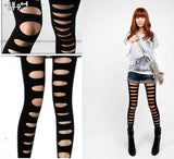 New Fashion Black Hole Leggings/Pantyhose - wikoco.com