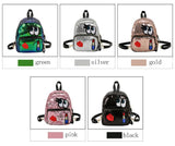 Cute Cartoon Eyes Sequin Small Student Children Backpack