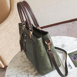 Retro PU Star Tassel Lady Shoulder Bag Women Handbag