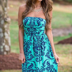 Floral Print Bodycon Low Cut Strapless Maxi Sexy Dress