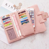 Retro Girl's Square Whole Color PU Purse Phone Wallet Clutch Bag