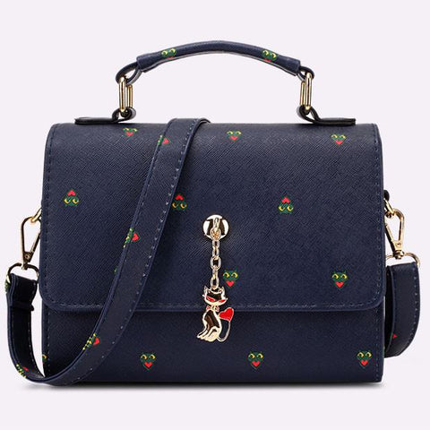 Sweet Anchors Printed Handbag Shoulder Bag Messenger Bag