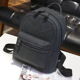 Unique Frosted Thread Geometric Pattern Leisure Simple School Backpack