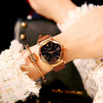 Fashion Ladies Waterproof Rhinestone Women Watch