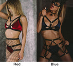 Sexy Flirting Female Prisoners Role Playing Bundle SM Cosplay Intimate Lingerie - wikoco