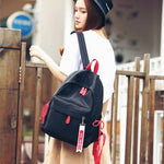 Fresh School Bag Waterproof Large Oxford Student Girl Backpack - wikoco