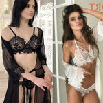 Sexy Hollow Underwear Intimate Lace Floral Women Lingerie