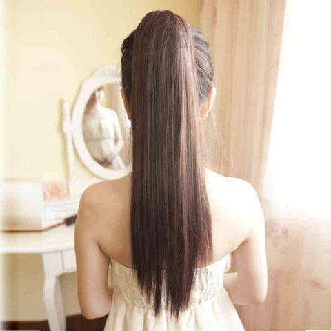 Hotsale Silk Straight Ponytail Hair - wikoco.com