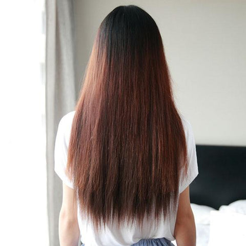 Natural 20 Inch Clip Straight Hair Extensions - wikoco.com