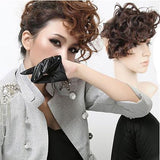 Night Club Deep Curly Bang Clip Hair Weft - wikoco.com