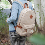 Casual Plaid Pattern Schoolbags Backpacks - wikoco.com
