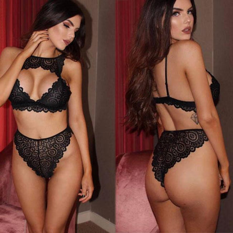 Sexy Lace Underwear Women Bra Set Intimate Lingerie
