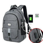 Leisure Sport Travel Business Computer Bag Backpack High School Bag Outdoor Large Travel Rucksack - wikoco