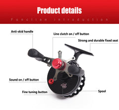 High Foot Fishing Reels