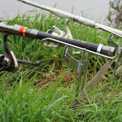 Double Spring Angle Fishing Pole