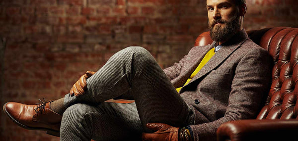 Best ideas for what to wear with men's grey trousers