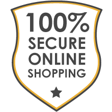 100% safe online shop, trust guarantee