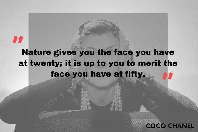 Famous quotes about beauty by Coco Chanel