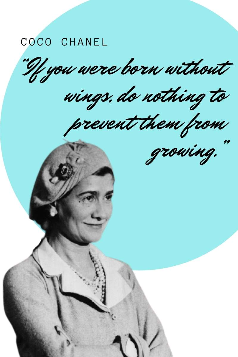 Inspiring Coco Chanel quotes