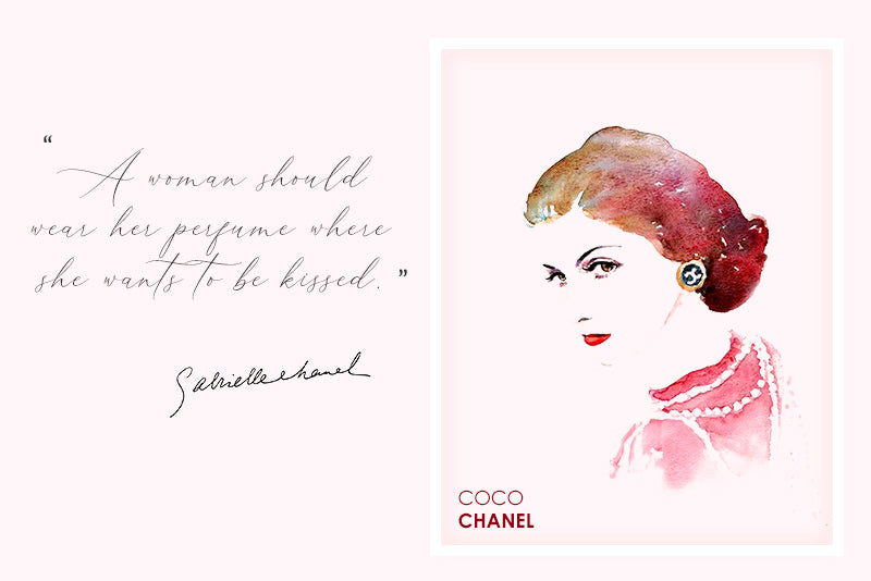 Inspiring and provoking thoughts by the famous designer Coco Chanel