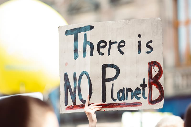 There is no planet B, so you have to take care of the Earth and every little detail counts