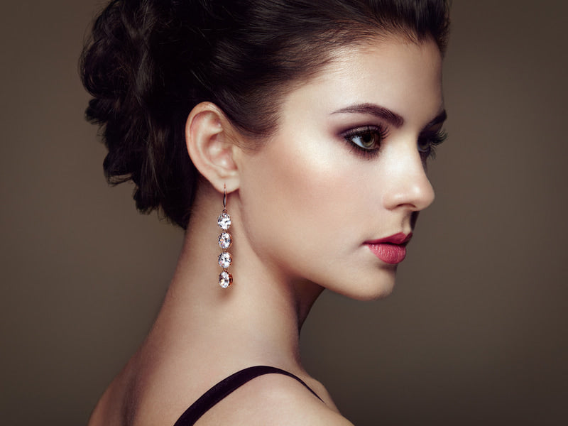Types of earrings and most common types of closure