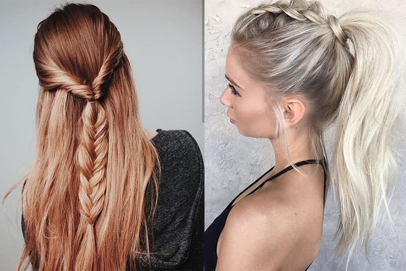 Braids in all their forms are the latest in hairstyles trends