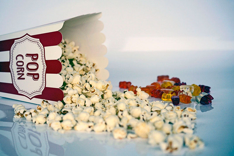 Know if popcorn is fattening and how many calories it has
