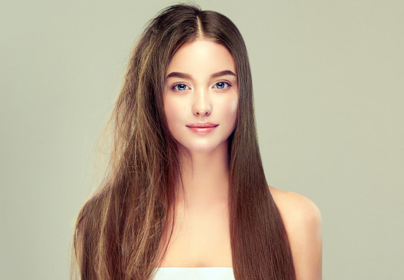 Keratin straightening will make your hair look soft and shiny