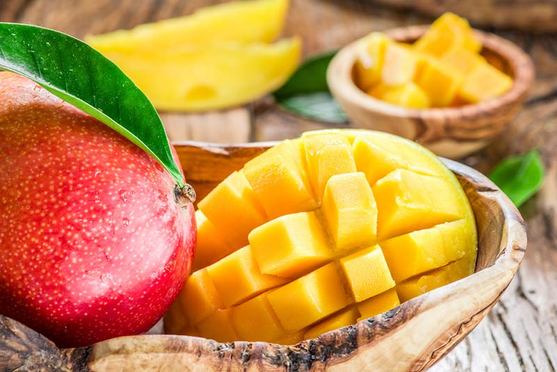 Benefits, contraindications and calories in  mango