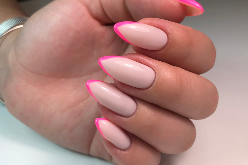 French manicure never goes out of style