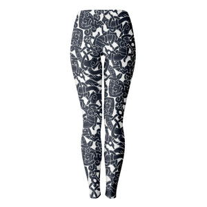 Product image for Jelling Wolf Pattern Leggings