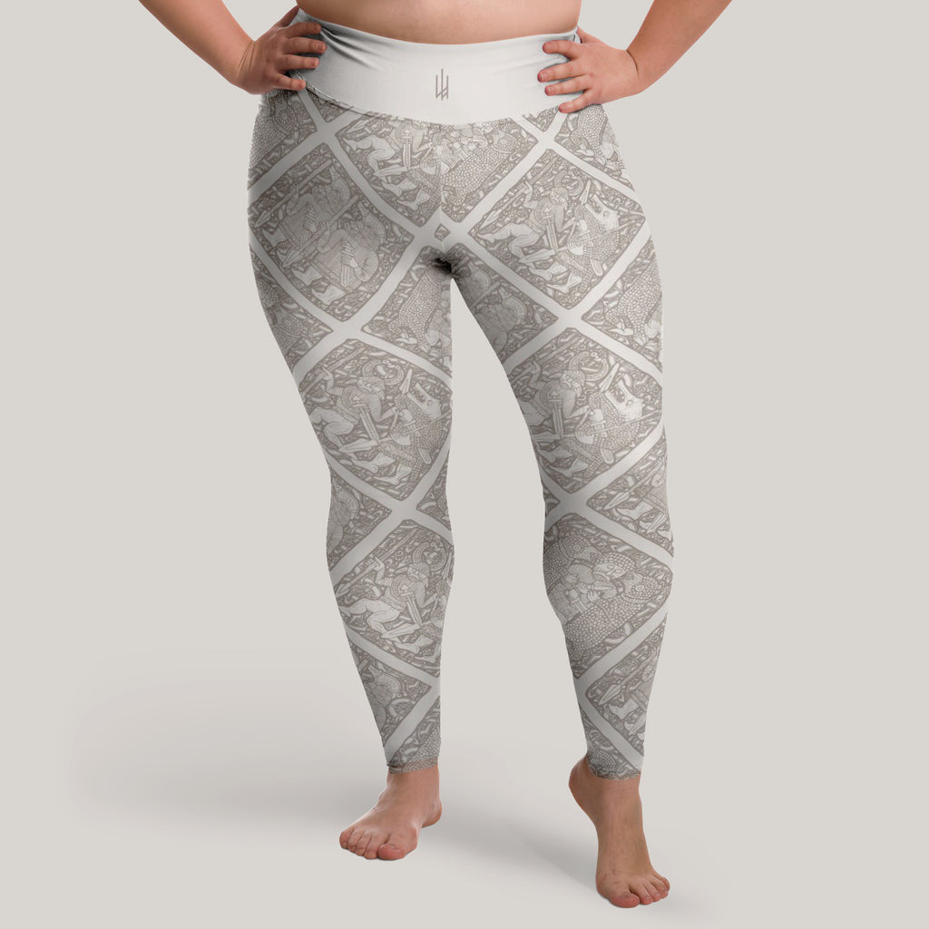 Torslunda Pattern Leggings (Plus Size)