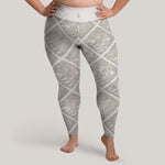 Variant image for Torslunda Pattern Leggings (Plus Size)