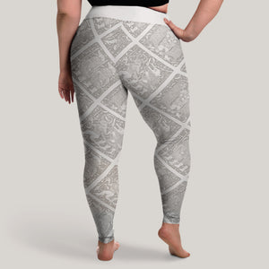 Product image for Torslunda Pattern Leggings (Plus Size)