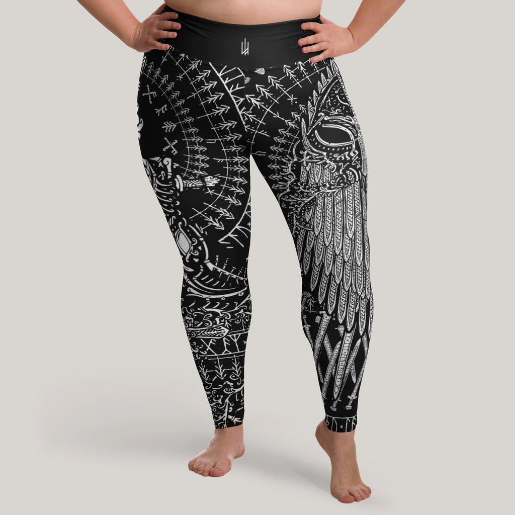 Tyr's Path Leggings (Plus Size)