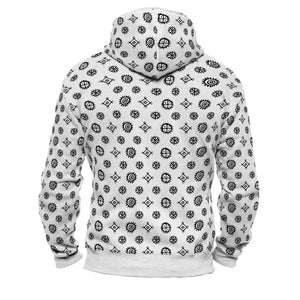 Product image for Sun Wheel Faux-Wool Hoodie
