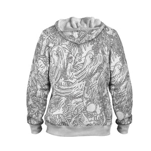 Product image for Valhyr Collection Faux-Wool Hoodie