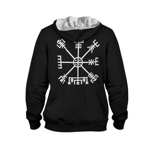 Product image for Vegvisir Faux-Wool Hoodie