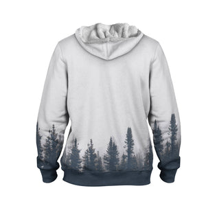 Product image for Spruce Forest Faux-Wool Hoodie