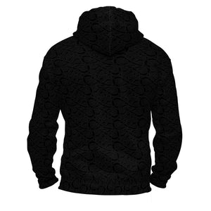 Product image for Black Valhyr Ziphoodie