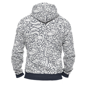 Product image for Jelling Wolves Zip Hoodie