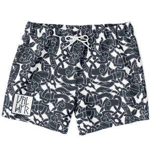 Product image for Jelling Wolf Pattern Shorts