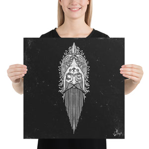 Product image for Face of Odin Poster