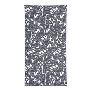 Product image for Jelling Wolves Pattern Tubescarf